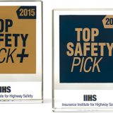 IIHS Announces Top Safety Picks for 2015 Vehicles