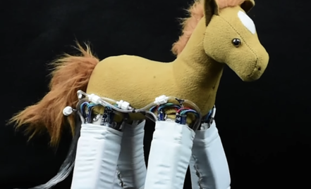 Turning Stuffed Animals or a Foam Tube Into Robots